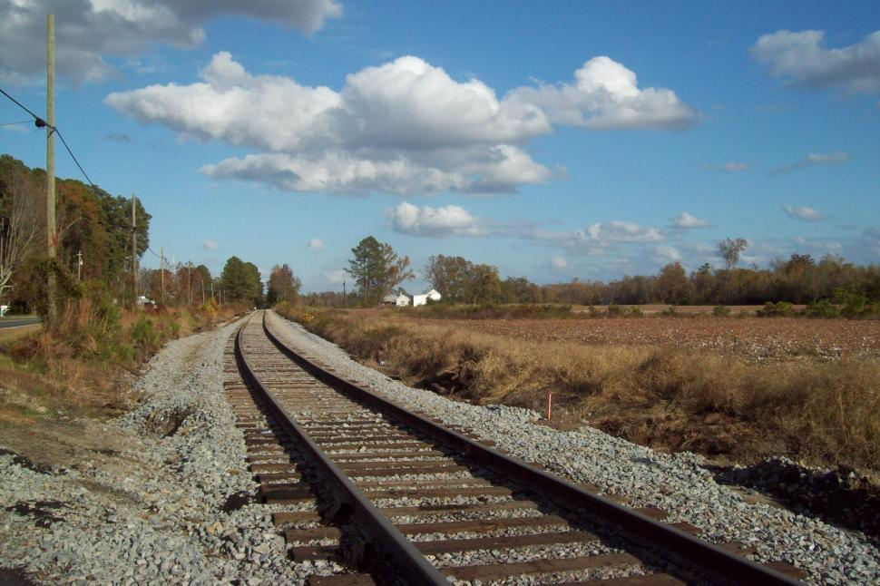 Download Free Stock HD Photo of A Train Has Been Here Online