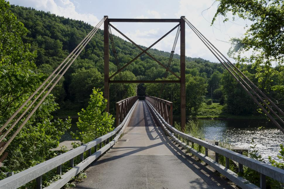 Download Free Stock Photo of Little Equinunk Bridge aka Kellams Bridge