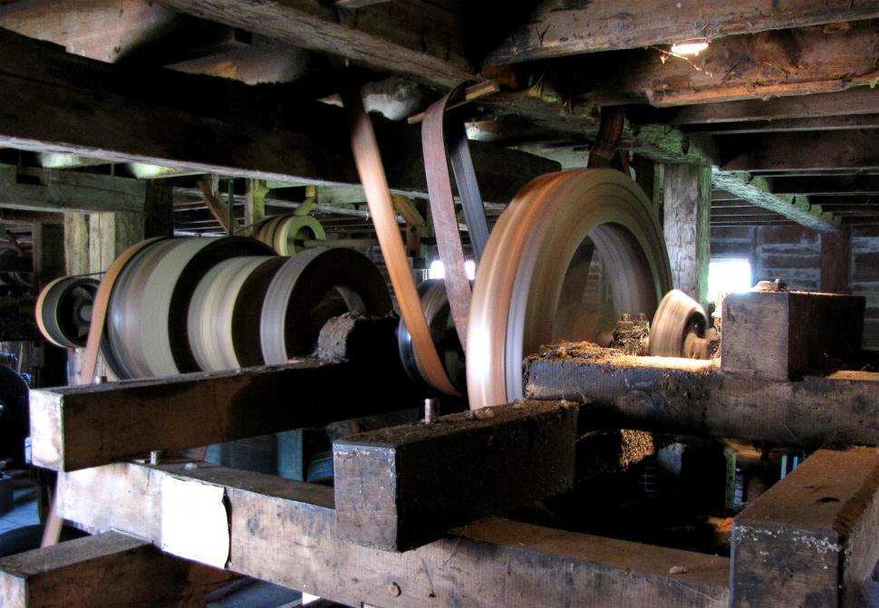Download Free Stock Photo of Woodmill