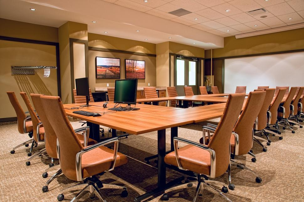 Download Free Stock Photo of Empty Boardroom