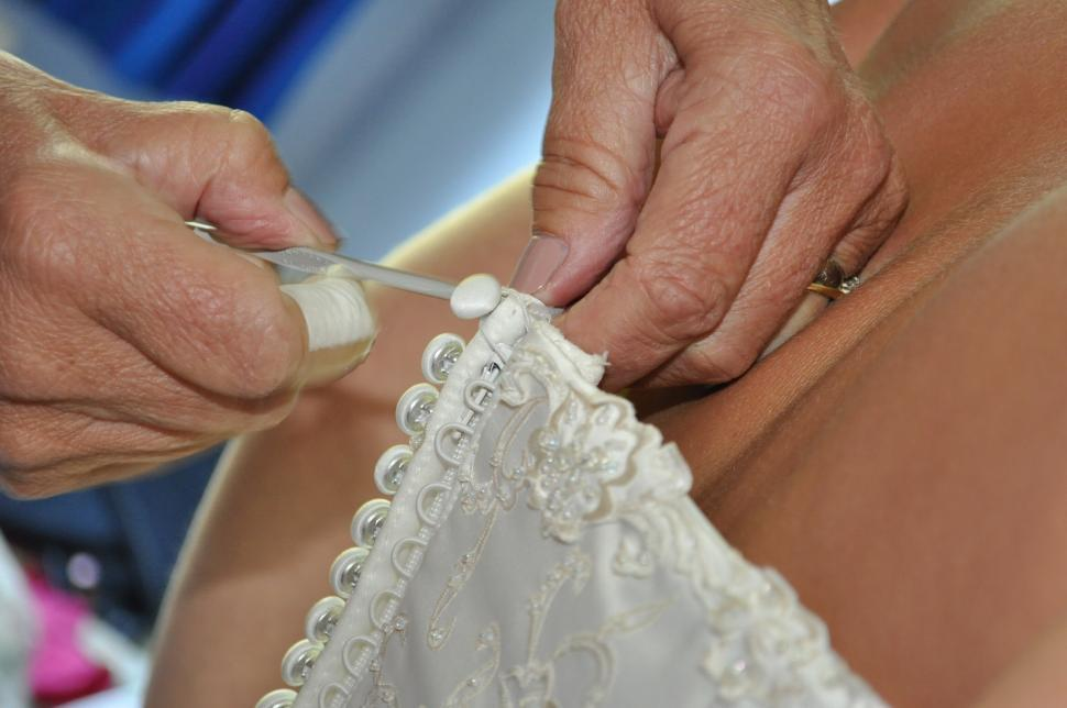 Download Free Stock Photo of Wedding dress