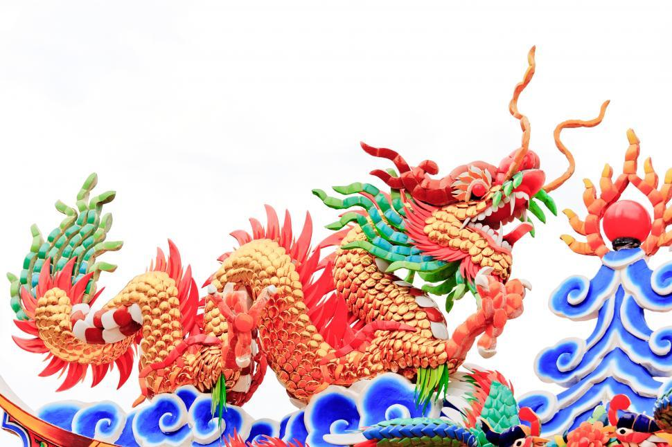 Download Free Stock Photo of chinese dragon