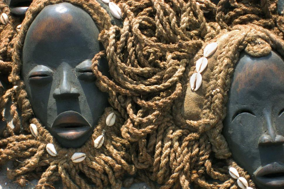 Download Free Stock Photo of African Masks