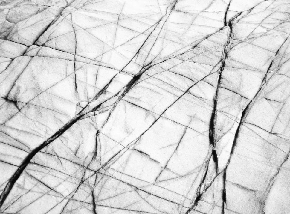 Download Free Stock Photo of Cracked Rock Background