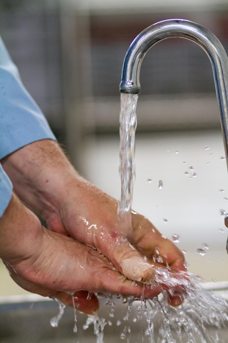 Download Free Stock Photo of Hand Washing