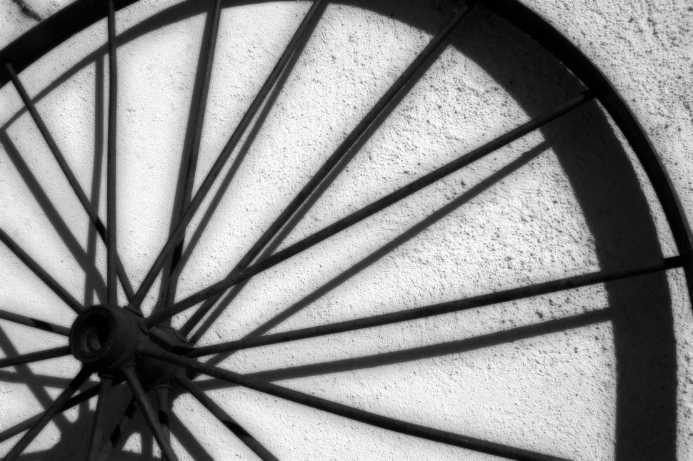 Download Free Stock HD Photo of Old wagon wheel Online