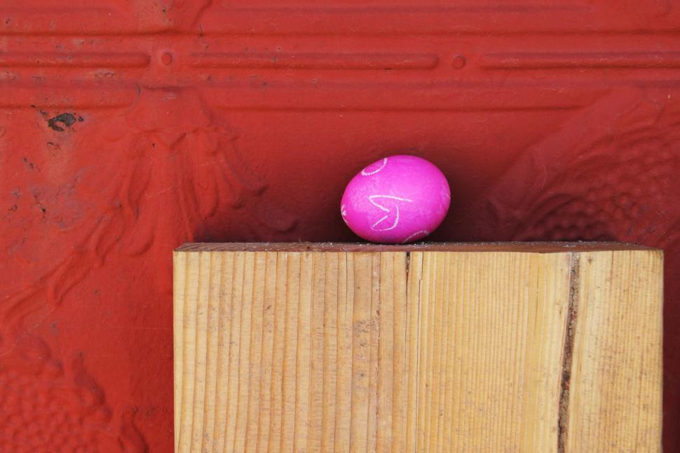 Download Free Stock Photo of Not so hidden Easter egg