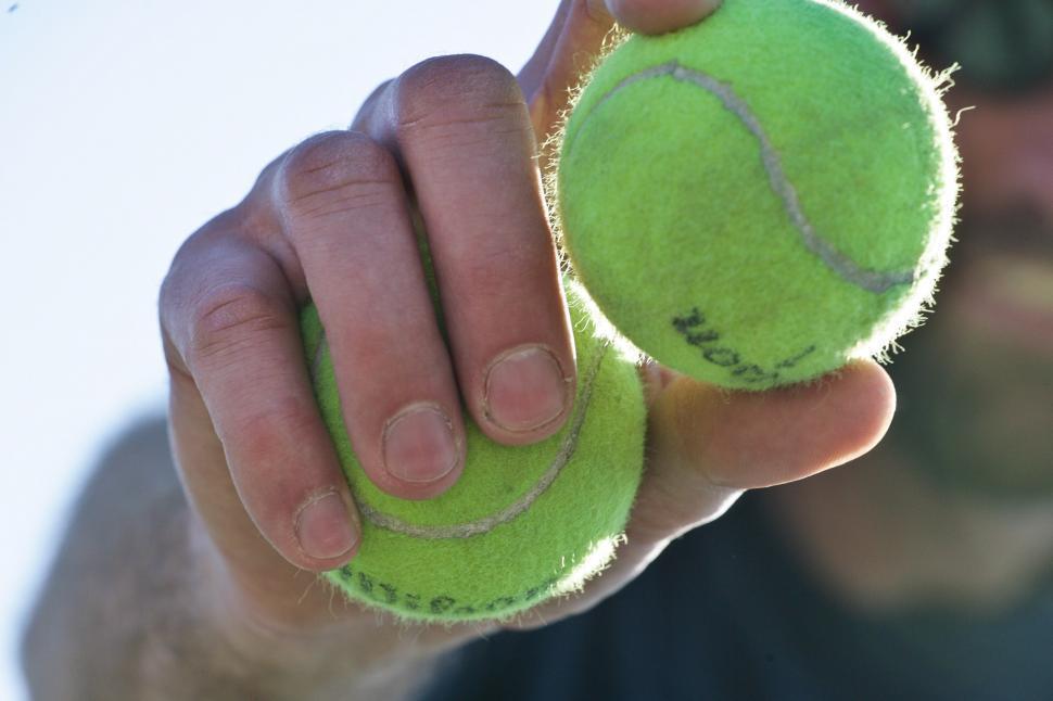 Download Free Stock HD Photo of Tennis Balls Online