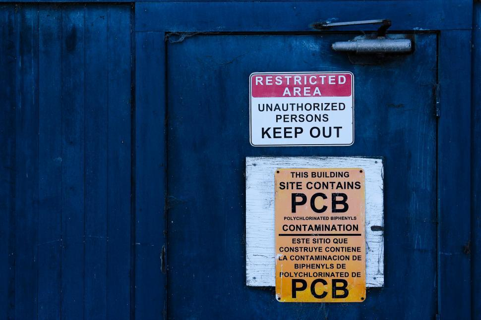 Download Free Stock Photo of Restricted Area