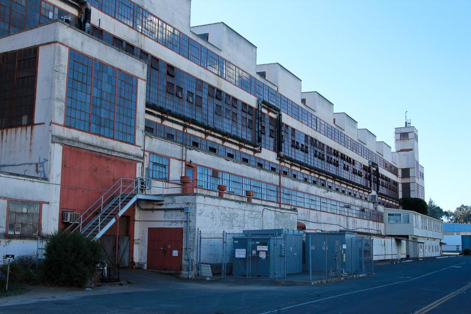 Download Free Stock HD Photo of Industrial Building Online