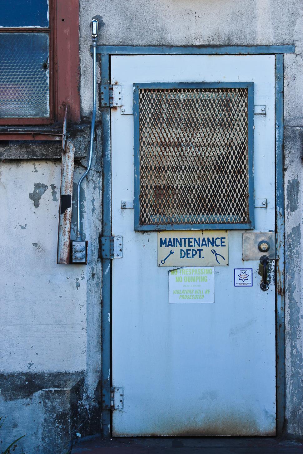 Download Free Stock HD Photo of Old Door - Maintenance Department Online