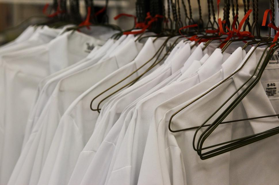 Download Free Stock Photo of Lab Coats