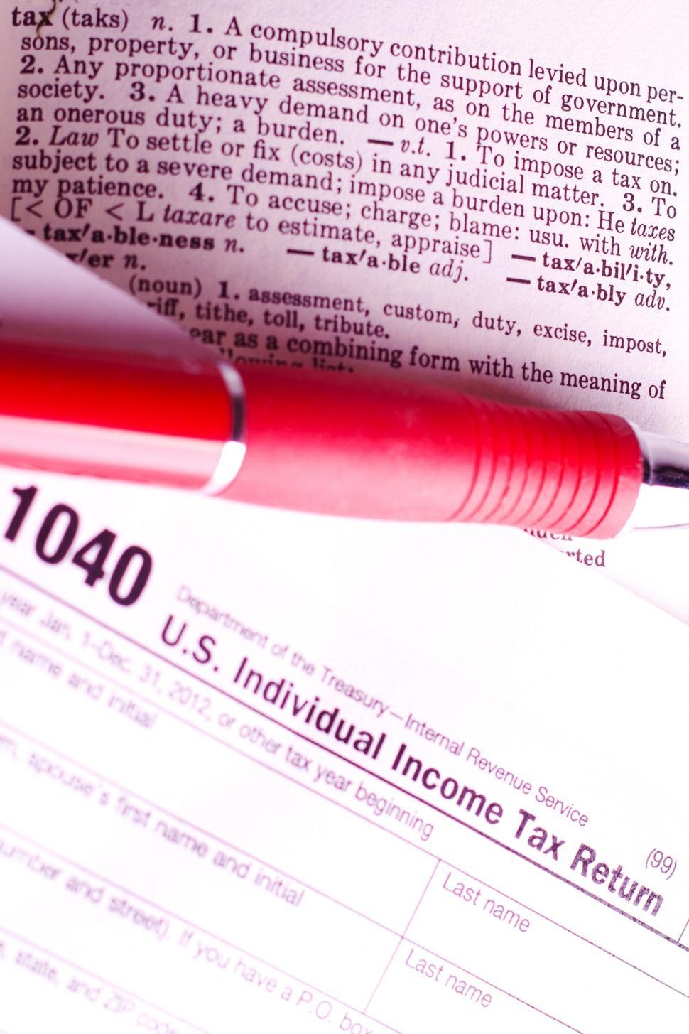 Download Free Stock Photo of Taxes