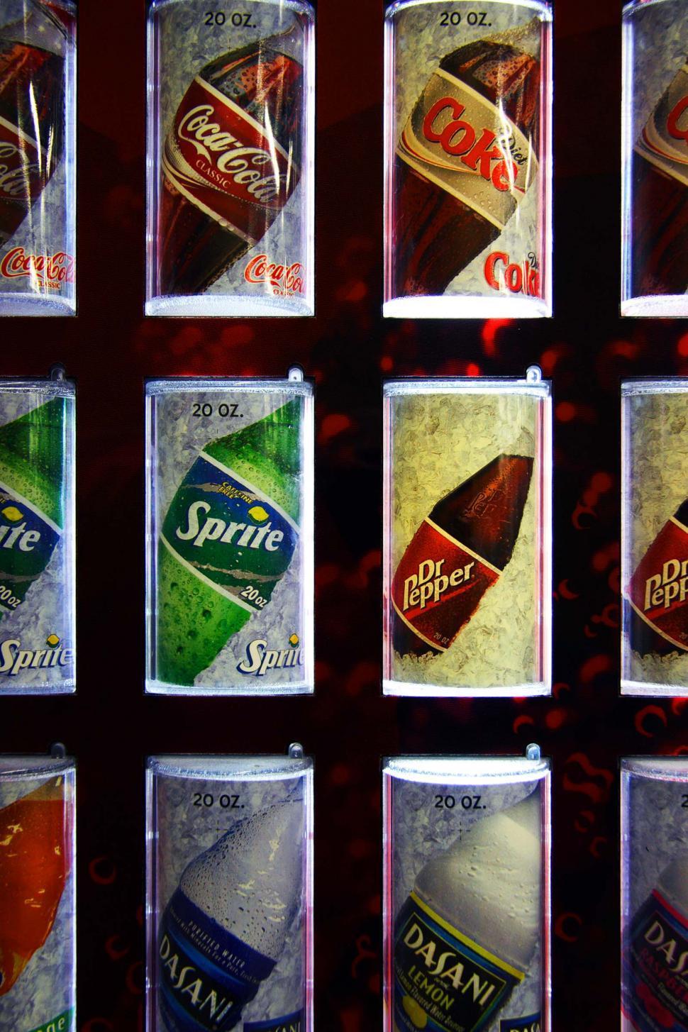 Download Free Stock HD Photo of Soda machine Online