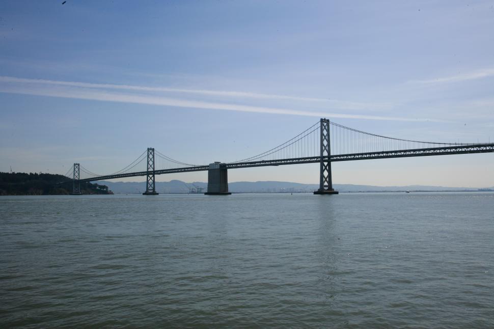Download Free Stock Photo of Bay Bridge