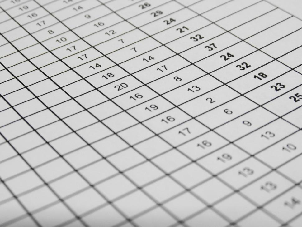 Download Free Stock Photo of Excel Data