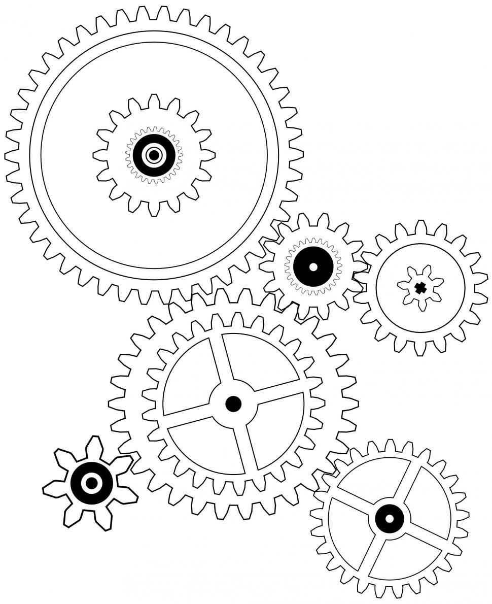 Download Free Stock Photo of Gears