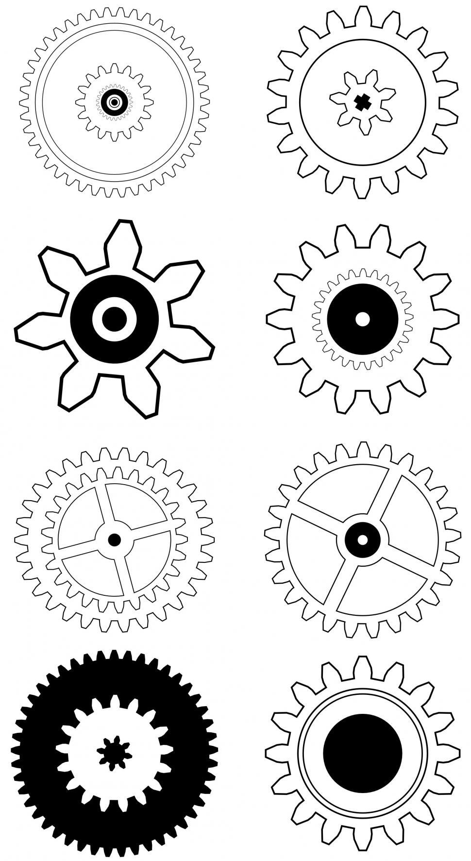 Download Free Stock HD Photo of Gear Icons Online