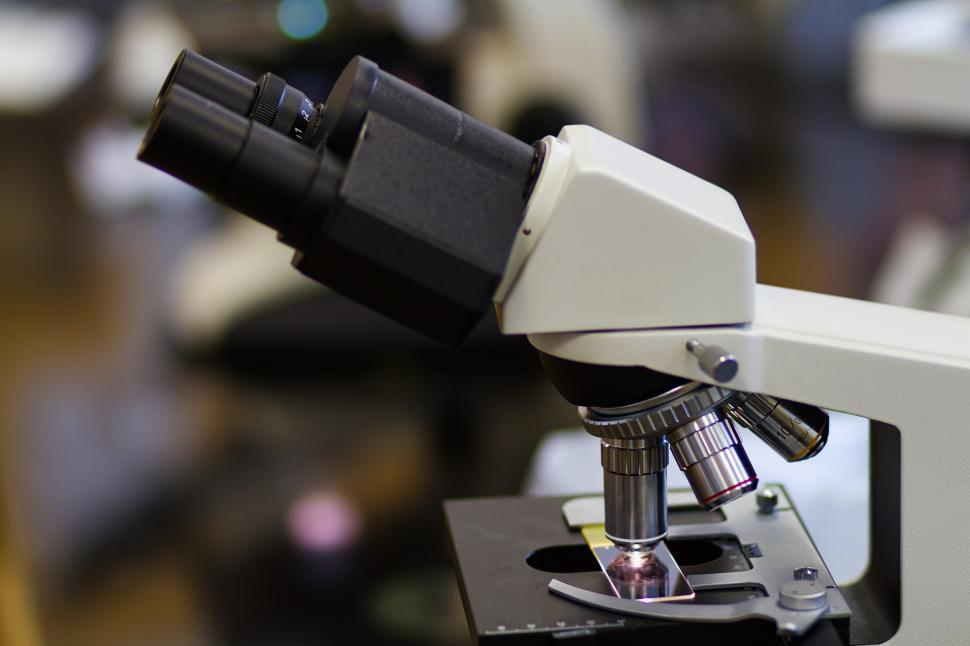 Download Free Stock Photo of Microscope