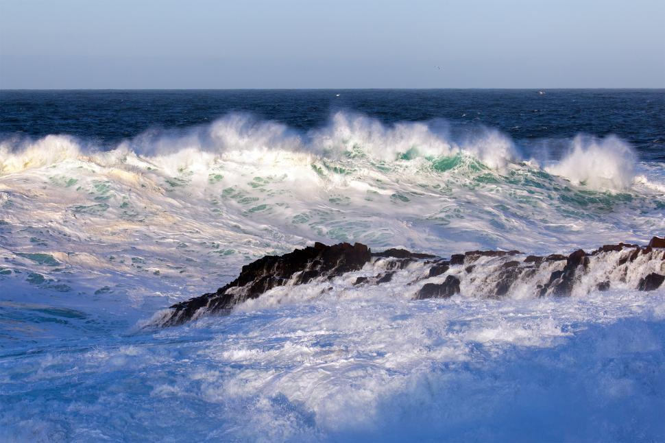 Download Free Stock Photo of Waves