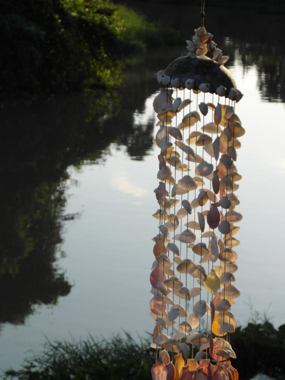 Download Free Stock HD Photo of Wind Chime of Shells Online