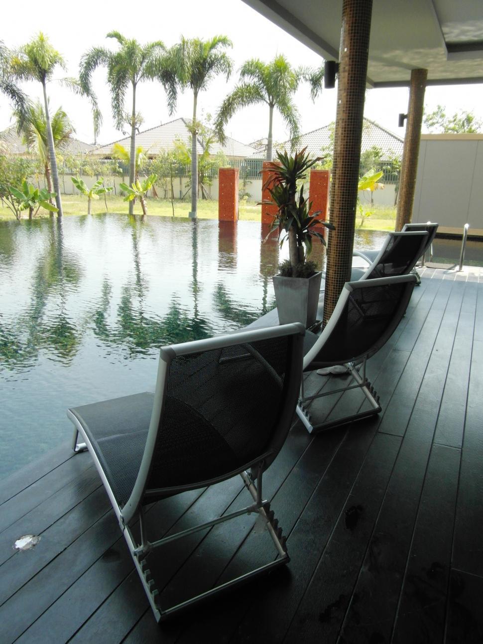 Download Free Stock Photo of Luxury Pool