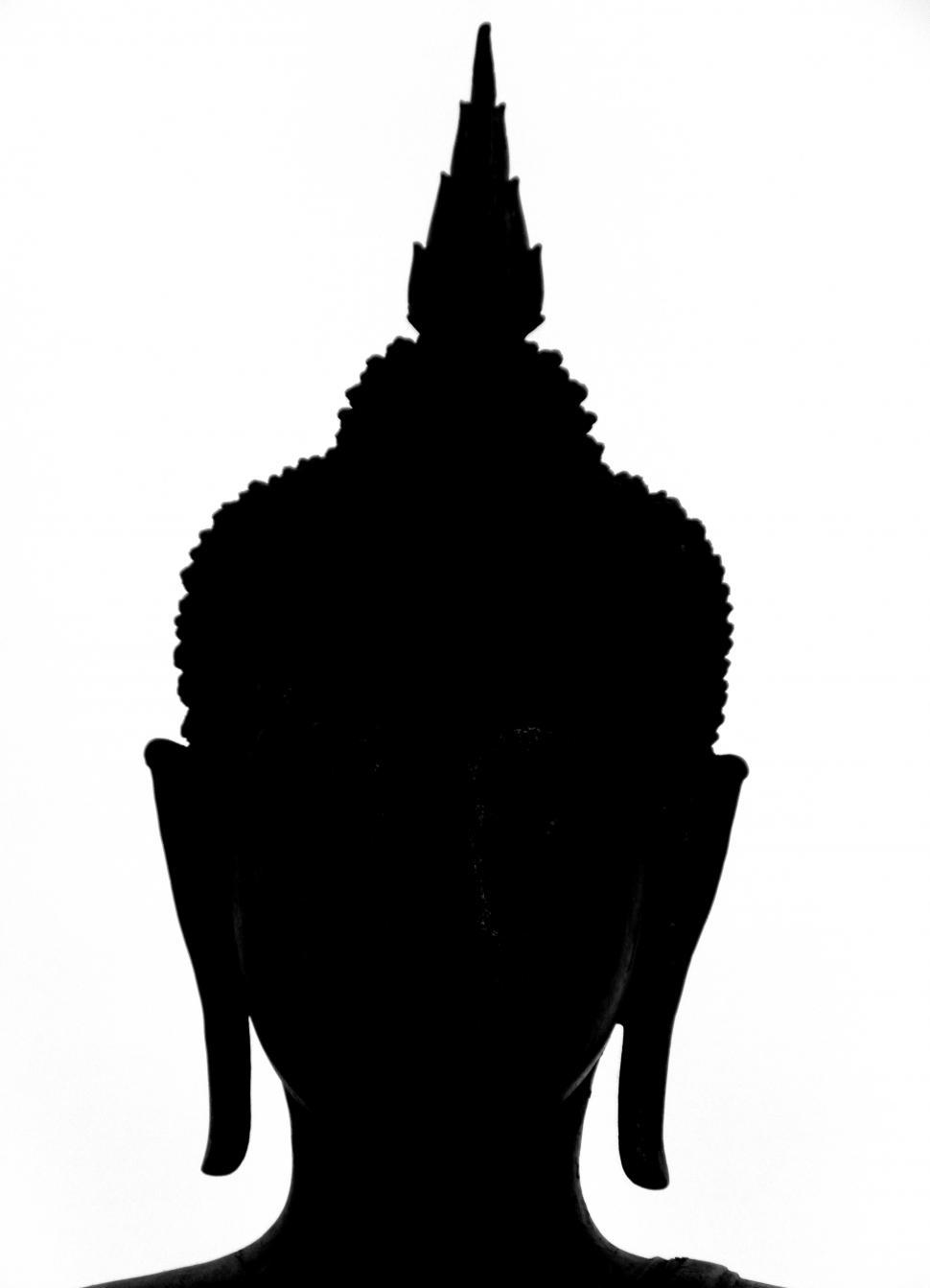 Download Free Stock Photo of Buddha Silhouette