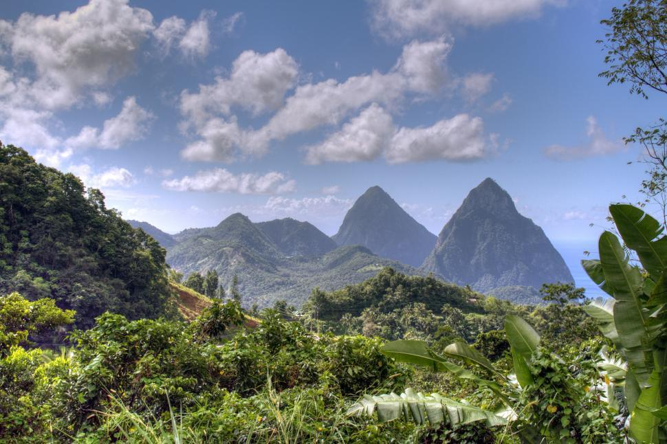 Download Free Stock Photo of St. Lucia