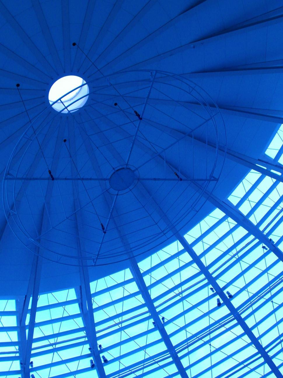 Download Free Stock Photo of Glass Dome Interior