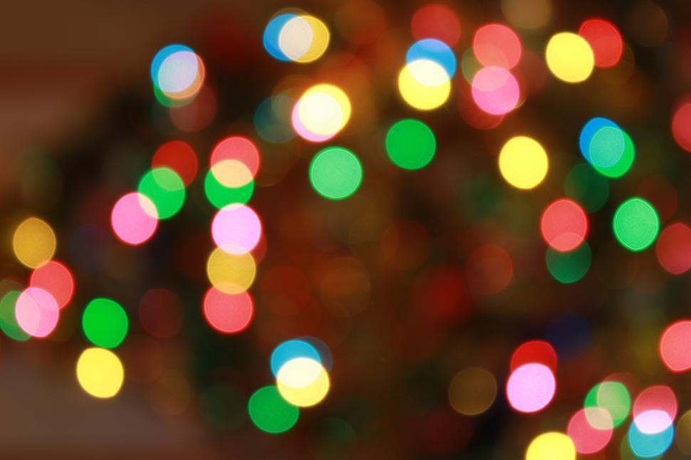 Download Free Stock HD Photo of Christmas bokeh Online