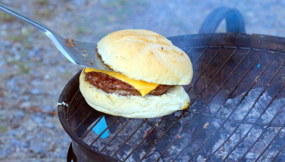 Download Free Stock Photo of Barbecue burger