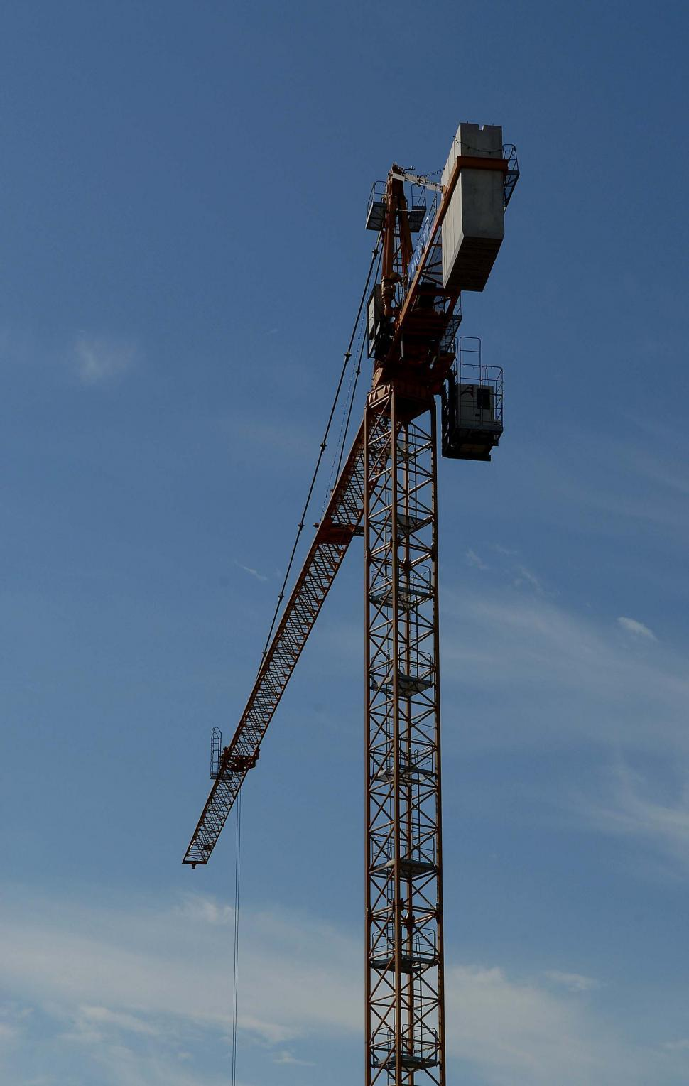 Download Free Stock HD Photo of Construction Crane 5 Online