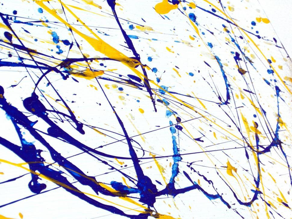 Download Free Stock Photo of Paint Splatter Background