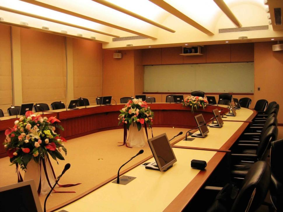 Download Free Stock Photo of The meeting room