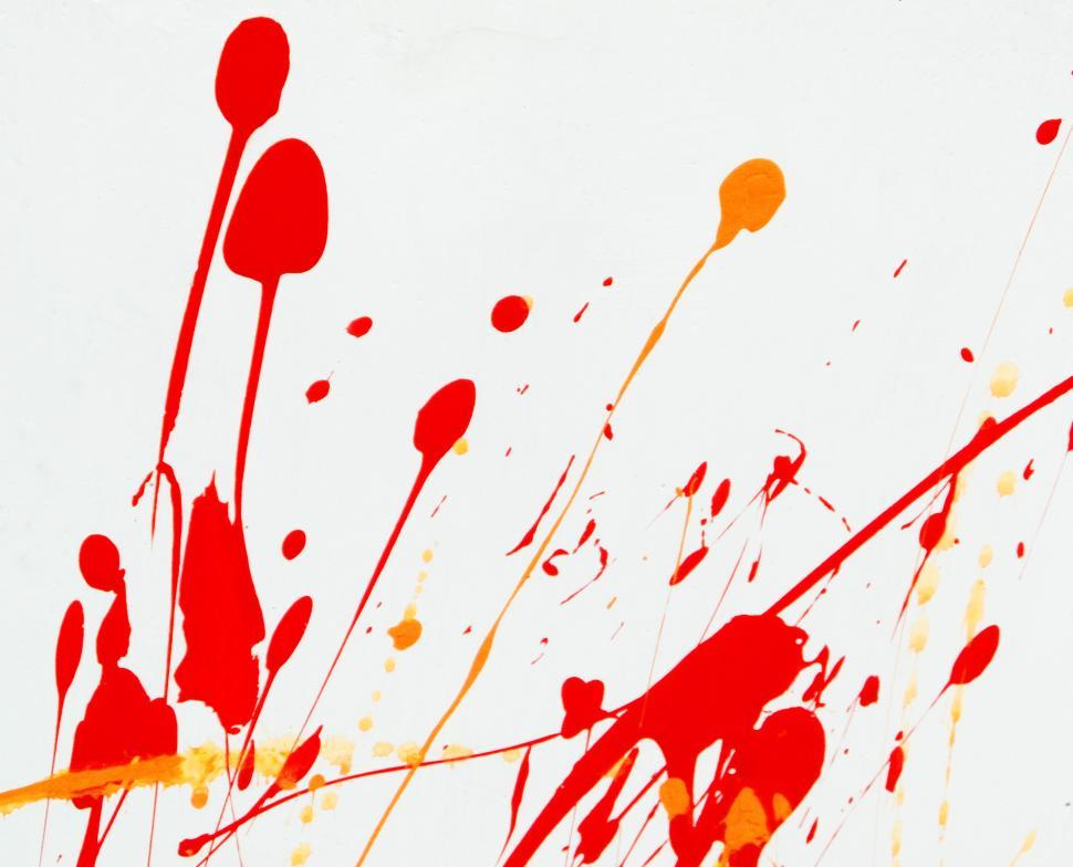 Download Free Stock Photo of Abstract Paint Splat