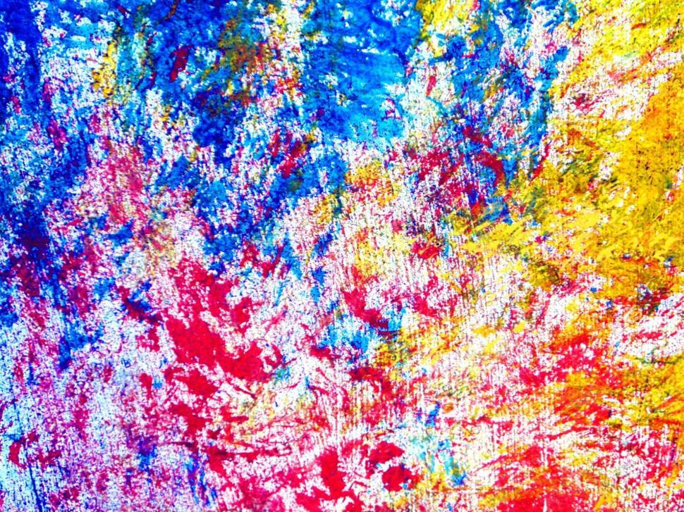 Download Free Stock HD Photo of Colorful Brush Strokes Online