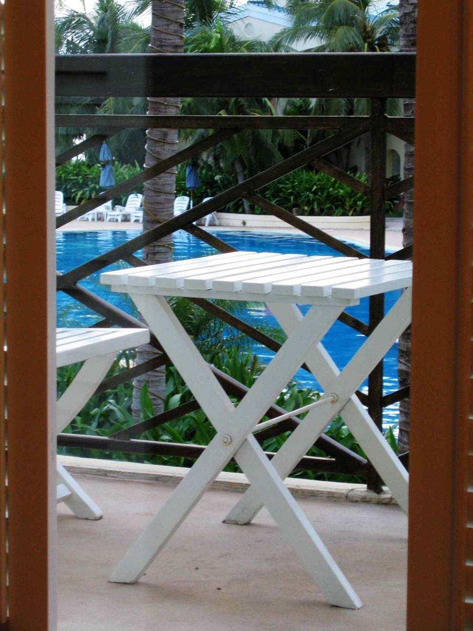 Download Free Stock HD Photo of Balcony of resort Online