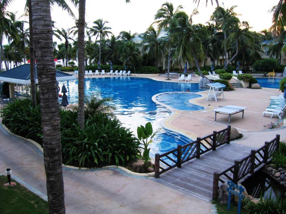 Download Free Stock Photo of Swimming pool