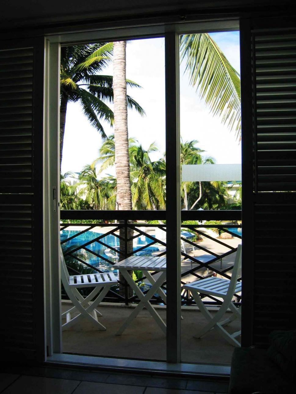Download Free Stock HD Photo of Balcony of resort Online