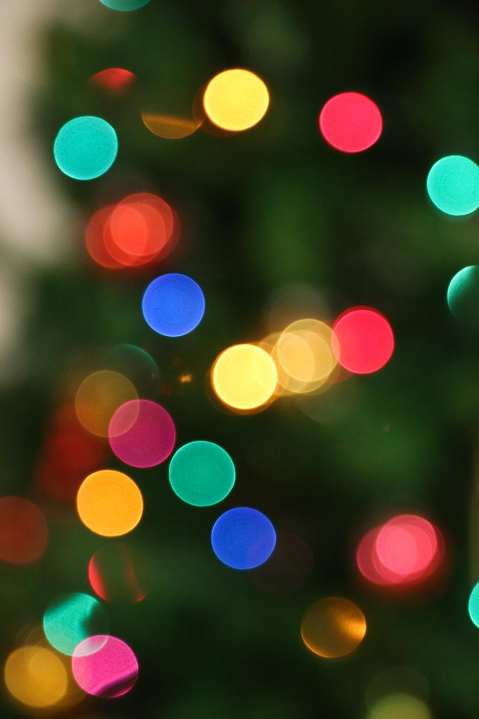 Download Free Stock Photo of Blurred Lights