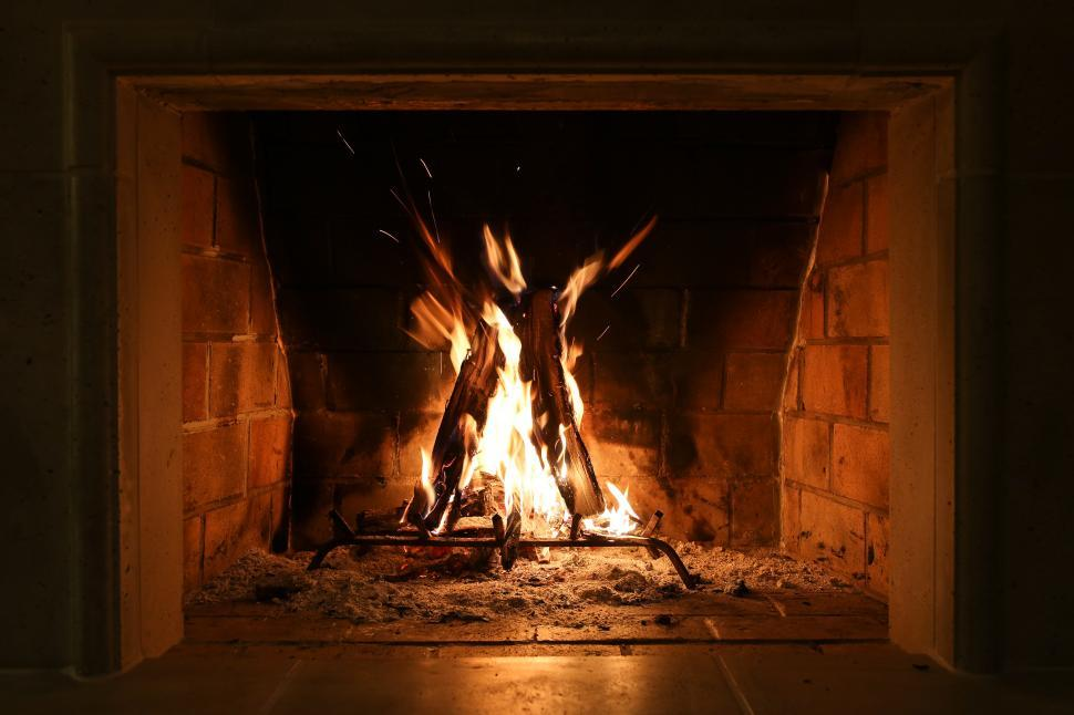 Download Free Stock Photo of Warm fire
