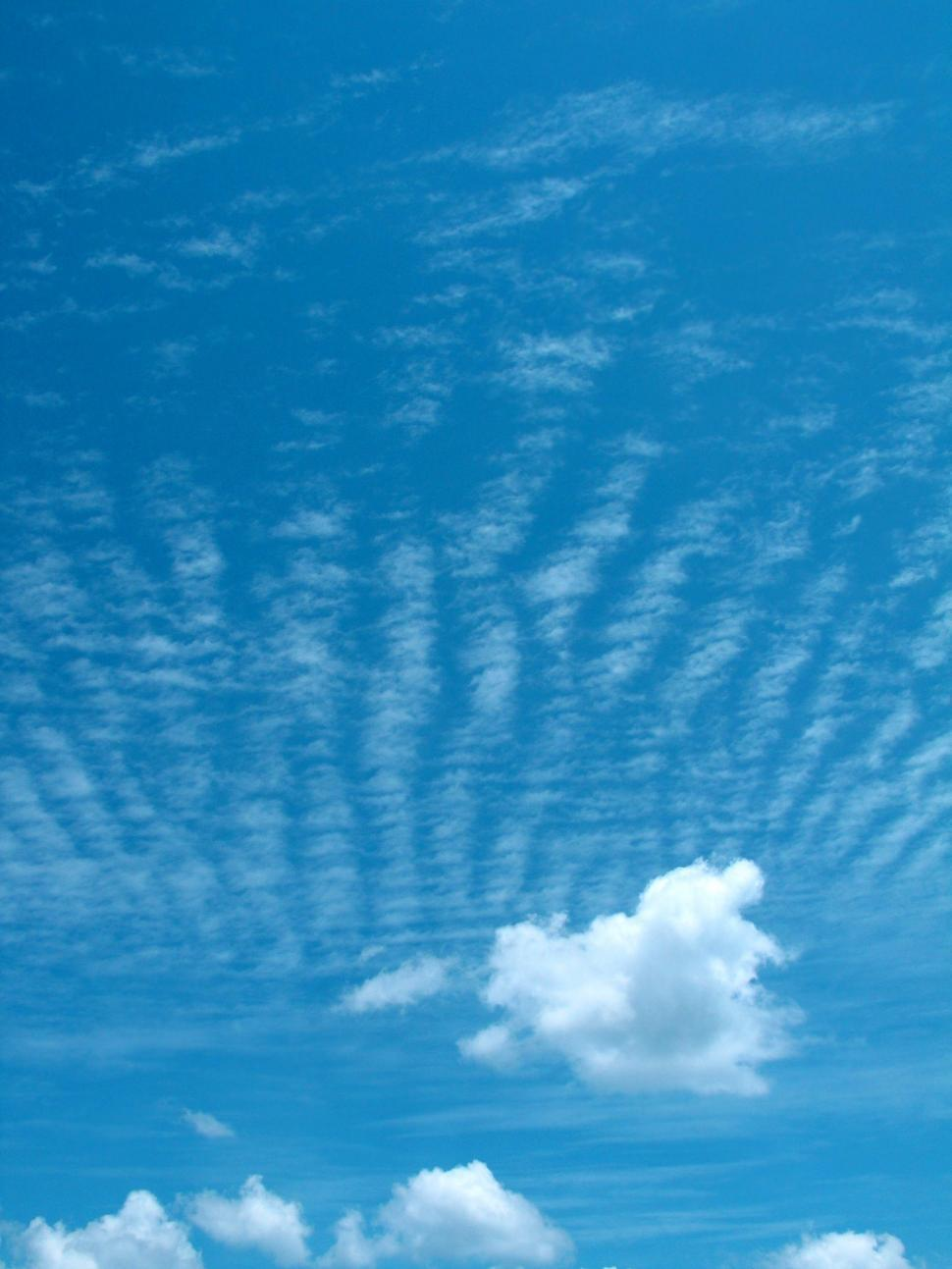 Download Free Stock Photo of Cloud Ripples