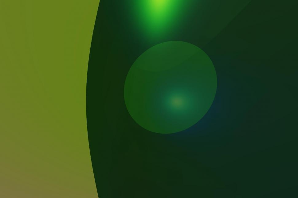 Download Free Stock Photo of Green Abstract