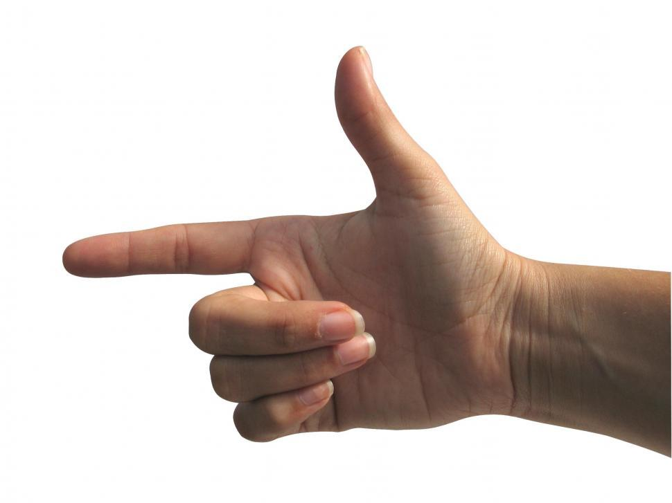 Download Free Stock Photo of Pointing Hand
