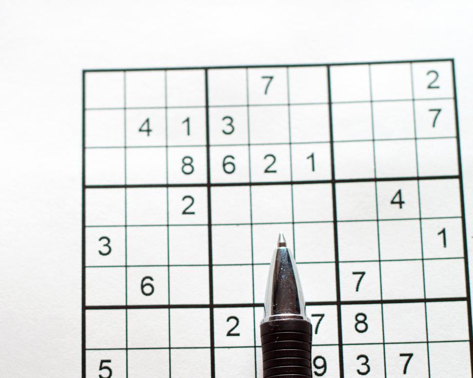 Download Free Stock Photo of Sudoku