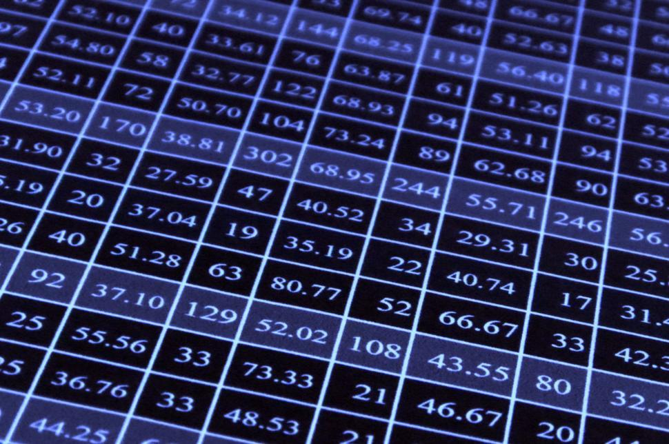 Download Free Stock HD Photo of Excel Data Sheet Online
