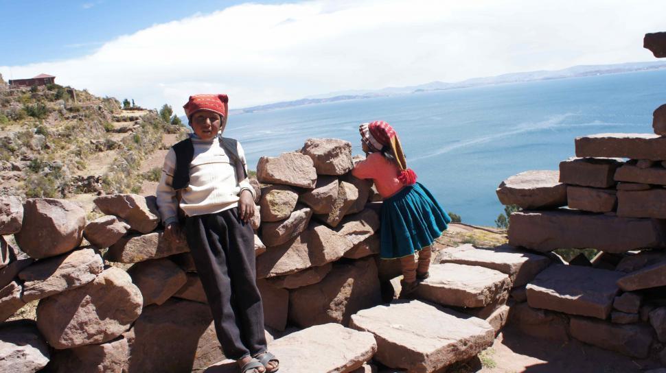 Download Free Stock HD Photo of Children in Peru Online