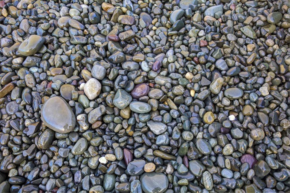 Download Free Stock Photo of Beach rocks