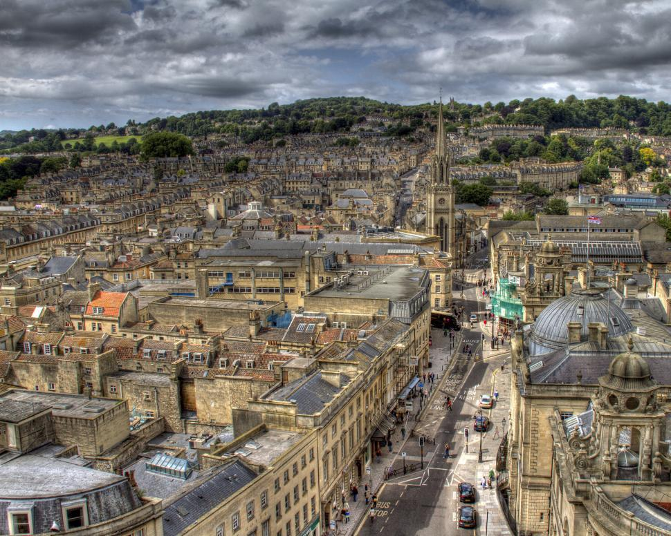 Download Free Stock Photo of Bath, UK