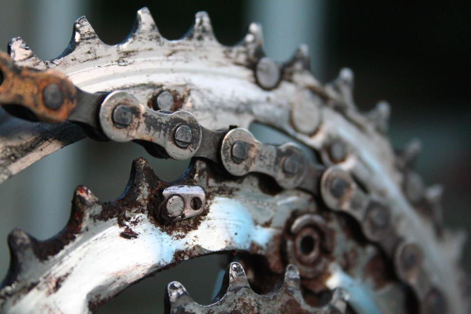 Download Free Stock HD Photo of Cycling - Close up cogs Online